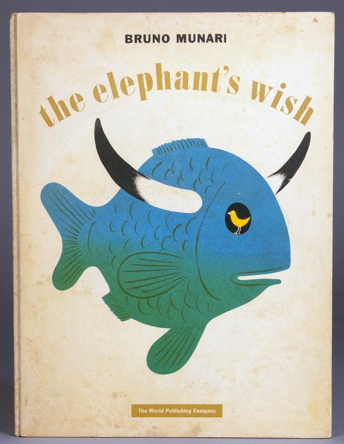 bruno munari the elephants wish cleveland und new york. Black Bedroom Furniture Sets. Home Design Ideas