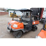 Kubota RTV, M# RTV900, S/N C0501, Product I.D# A5KB1FDAEBG0C0501, (Out of service, engine issue)