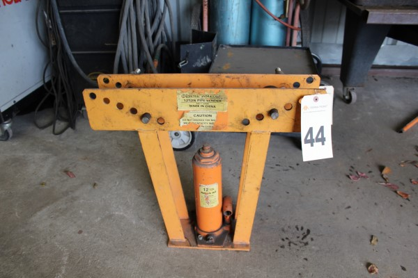 "Central Hydraulics 12 Ton Pipe Bender, 1/2"" - 2"" Dies"