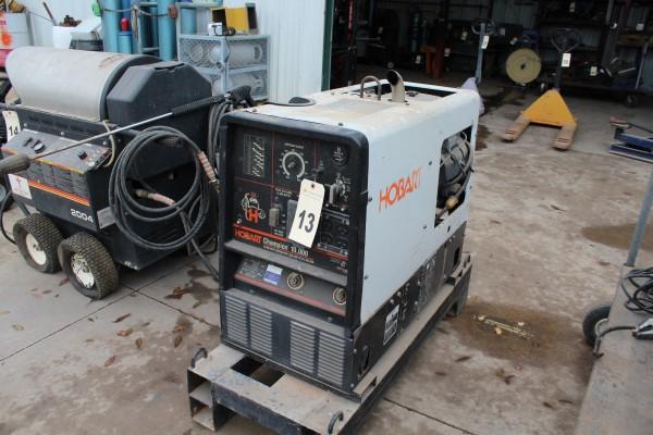 Hobart Gas Powered Welder/Generator, 10,000 Watt Generator, 230 Amp DC/CC Welder, S/N LH320112Y