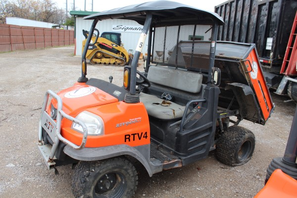 Kubota RTV, M# RTV900, S/N C0501, Product I.D# A5KB1FDAEBG0C0501, (Out of service, engine issue) - Image 3 of 4