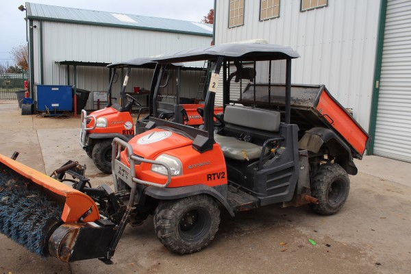 Kubota RTV, M# RTV900, S/N A0472, Product I.D# KRTV900A910A0472, W/ Auxillary Hydraulics & Power - Image 3 of 4