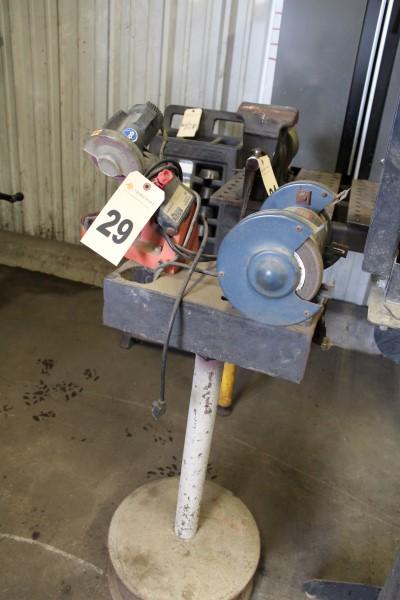 Chainsaw Chain Sharpener, W/ Grinder
