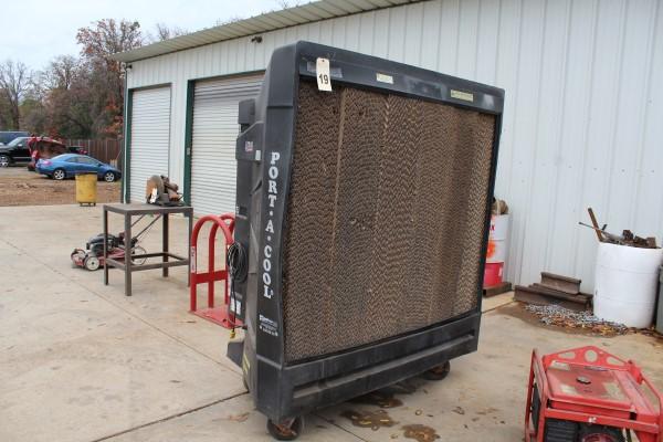 "Portacool 2 Speed, 48"" Evaporative Cooler, M# PAC2K482S, S/N 149794-07"