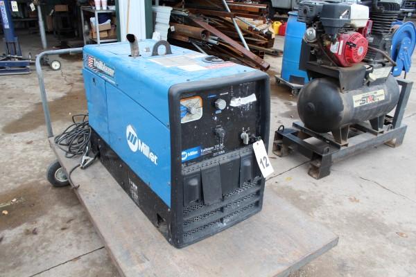 Miller Trailblazer Gas Powred Welder, M# 275 DC, S/N LJ310123Q