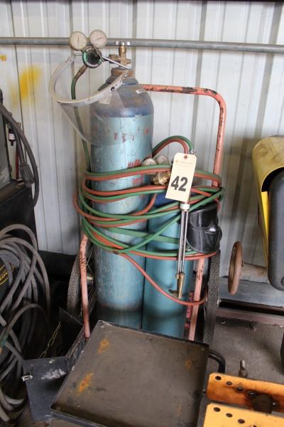 Oxy/Acy Torch Cart, (No Tank)
