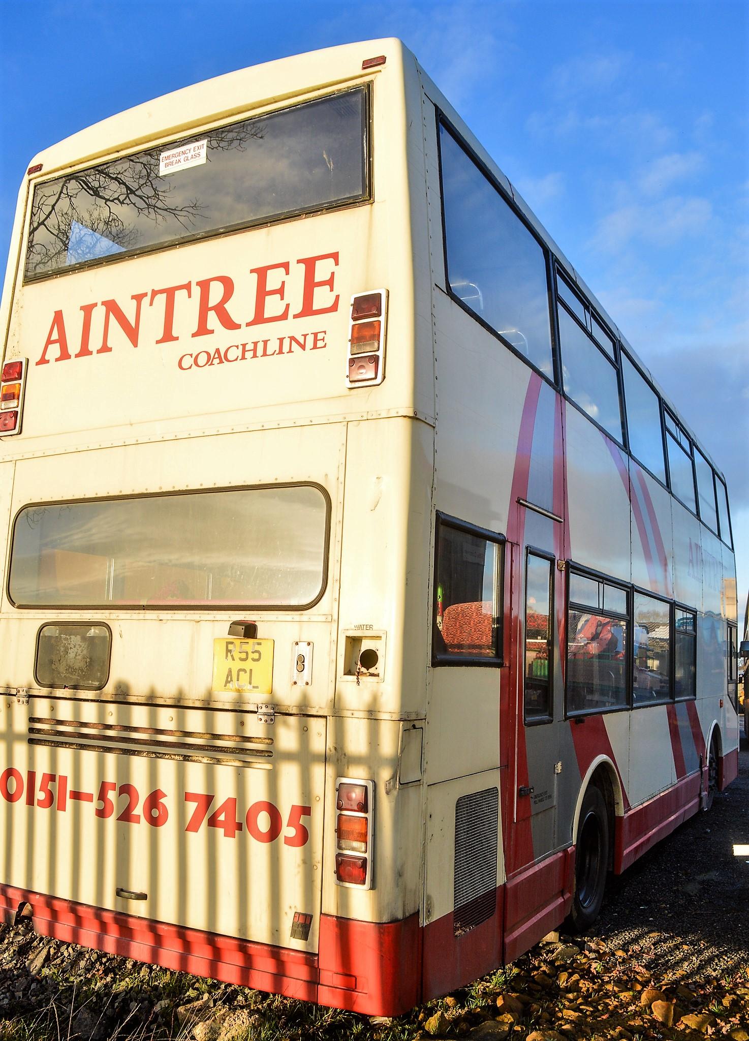 Lot 14 - Alexander Dennis double deck service bus for spares Registration Number: R644 LVE Date of