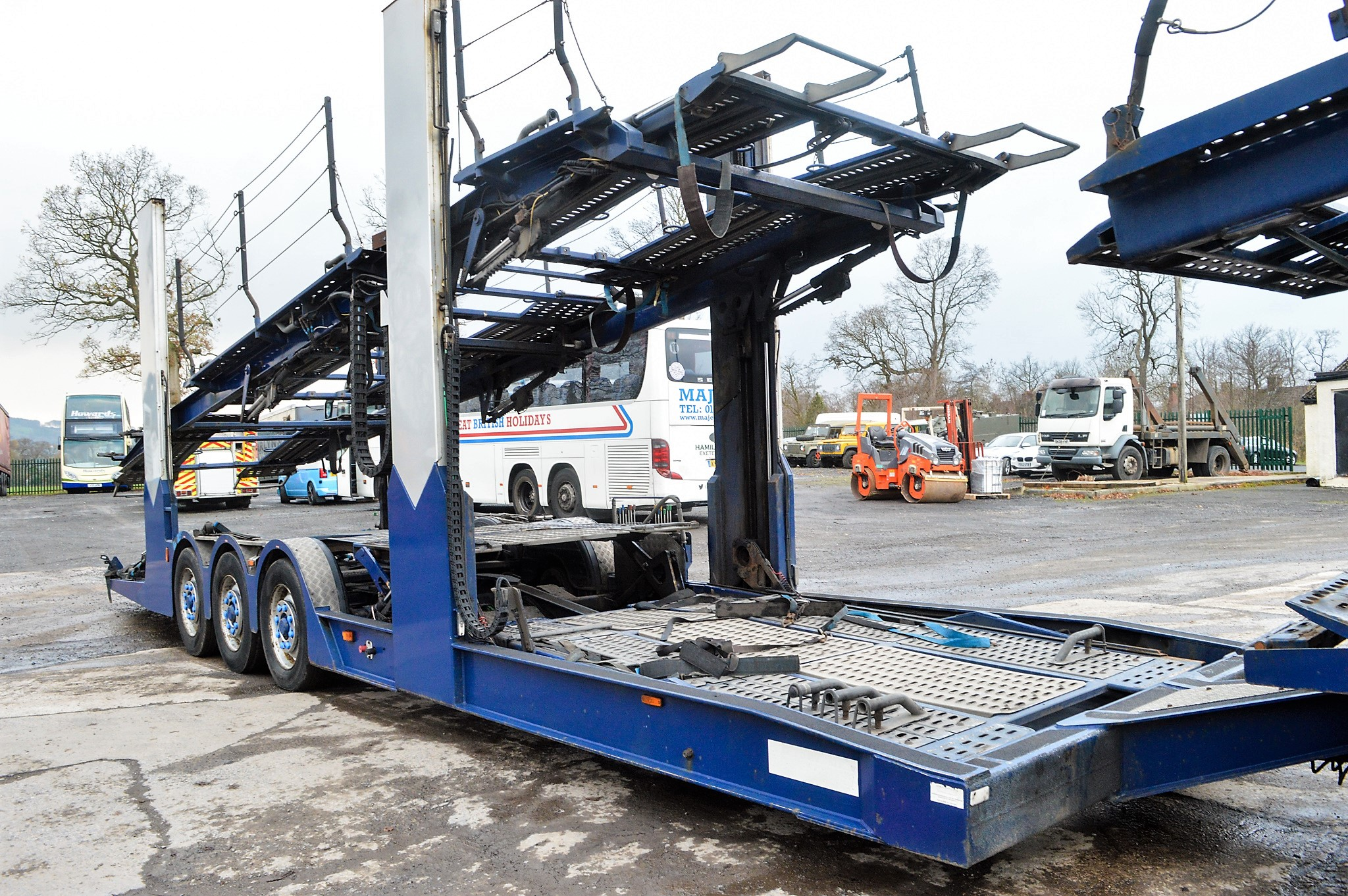 Lot 20 - Volvo FM 6 x 2 21 tonne car transporter lorry Registration Number: KX57 POH Date of Registration: