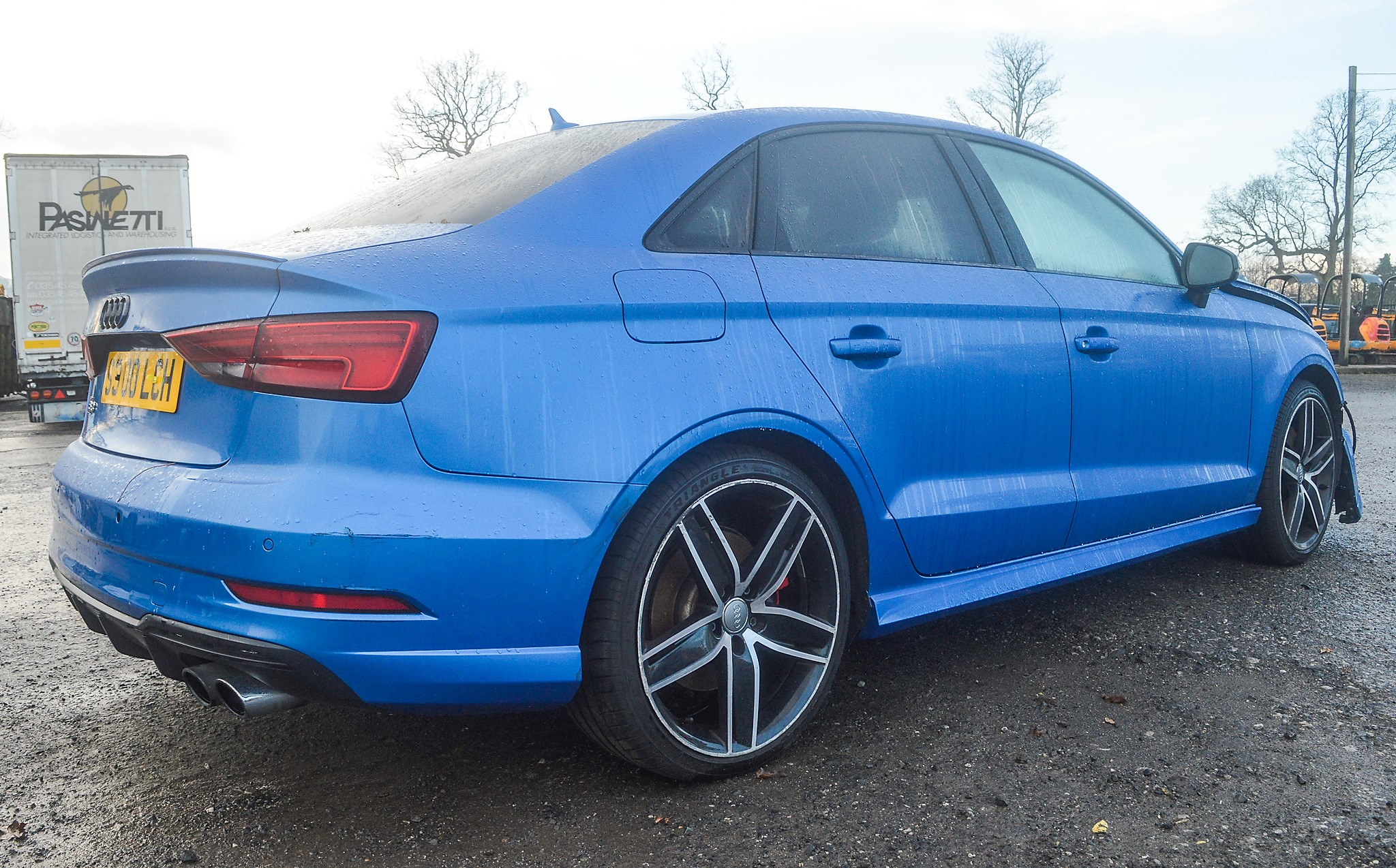 Lot 19 - Audi S3 TFSi Quattro Black Edition 4 door saloon car Registration Number: S300 LCH Date of