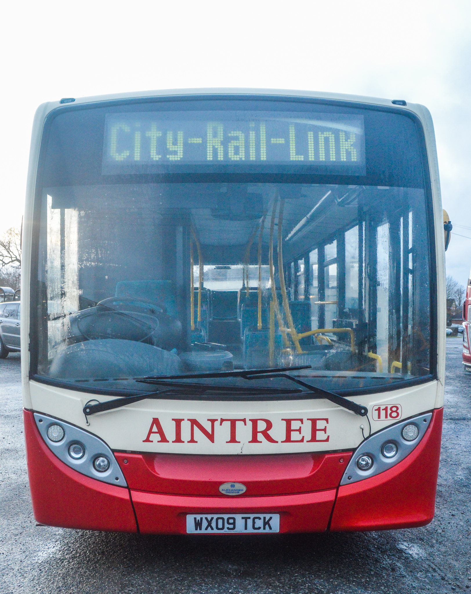 Lot 3 - Alexander Dennis Dart 4 Enviro 2000 29 seat single deck service bus Registration Number: WX09 TCK