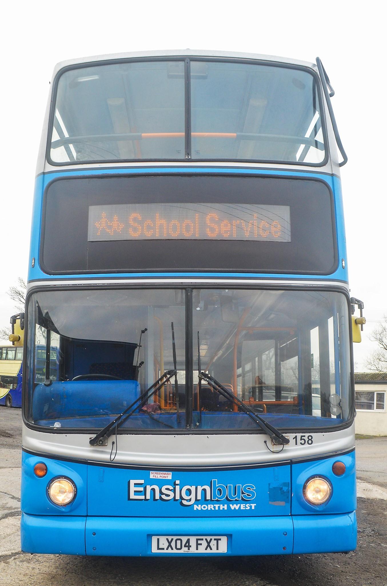 Lot 7 - Alexander Dennis Trident TransBus 80 seat double deck service bus Registration Number: LX04 FXT Date