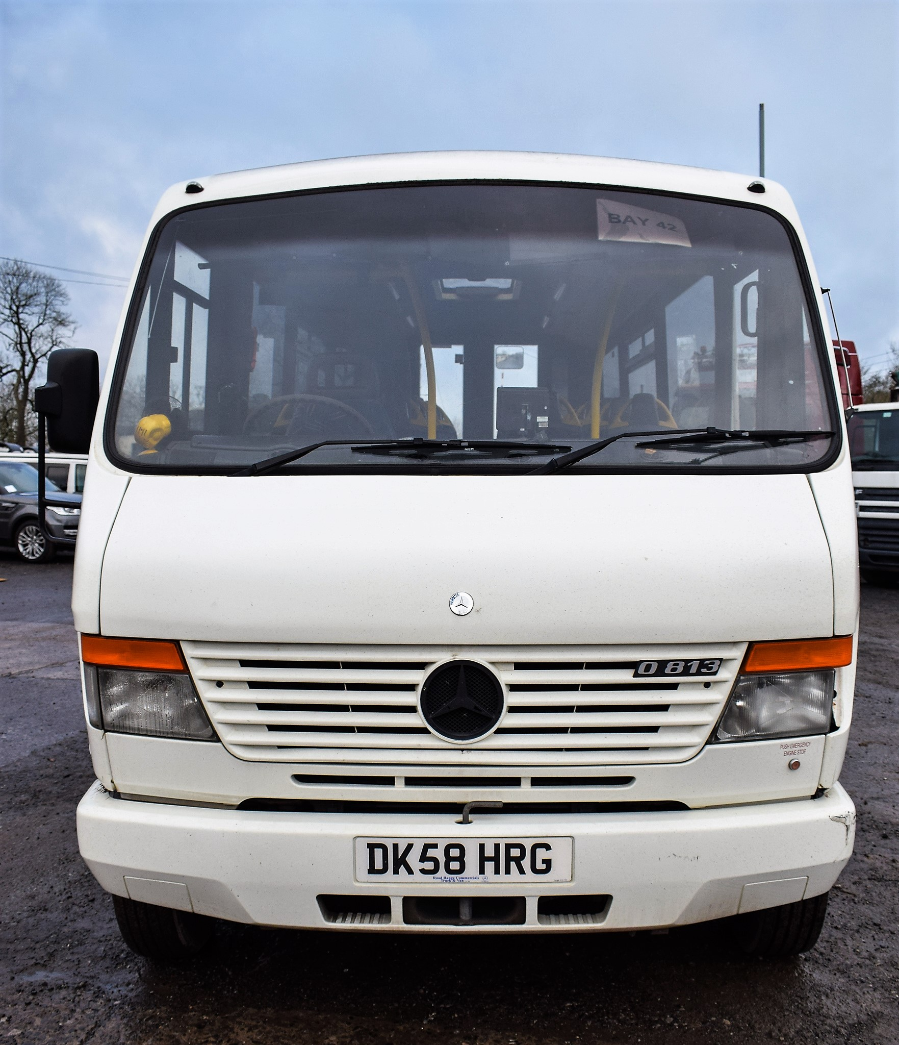 Lot 17A - Mercedes Benz O 813 24 seat mini bus Registration Number: DK58 HRG Date of Registration: 14/10/