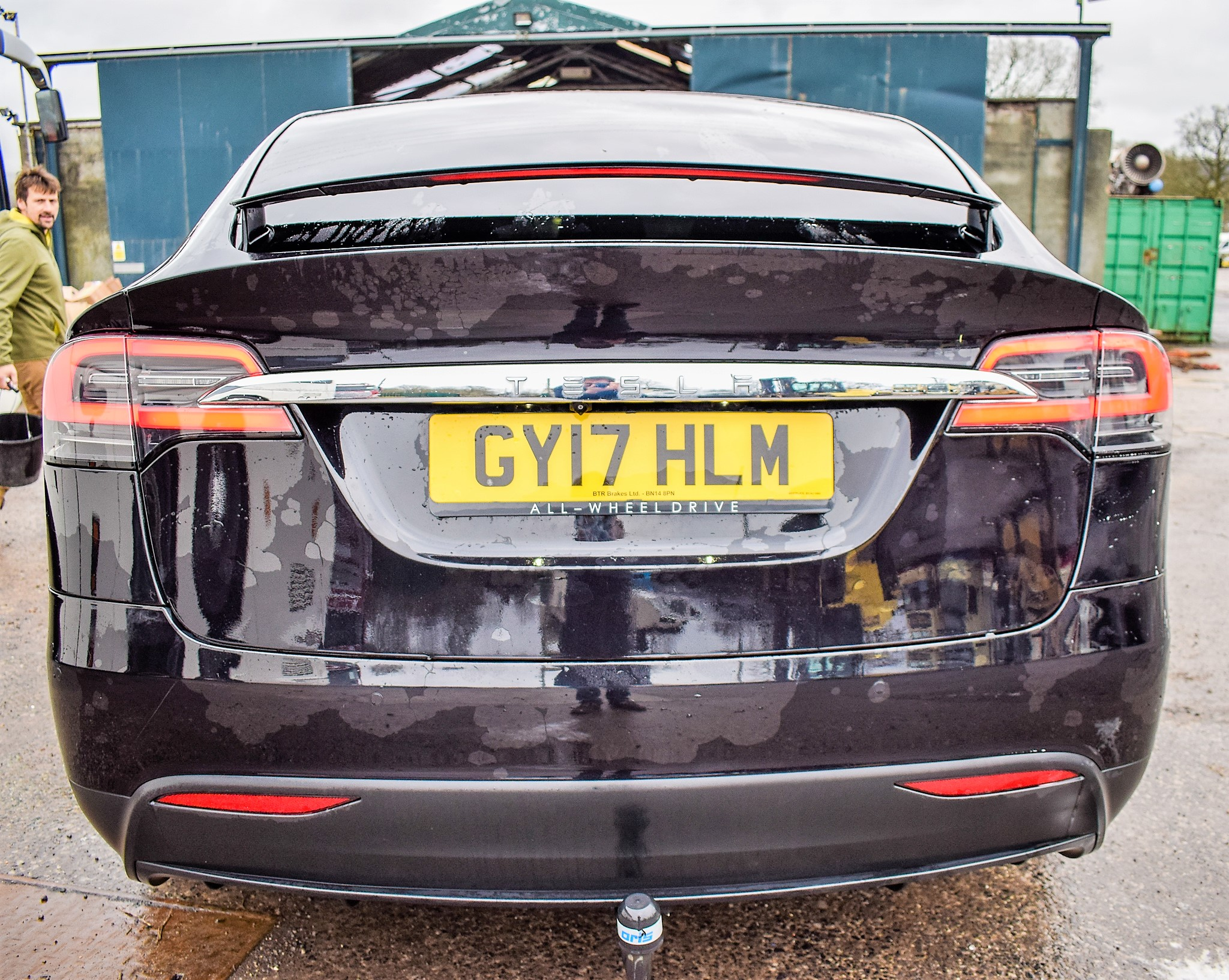 Lot 19A - Tesla Model X 90 D dual motor 7 seat battery electric SUV Registration Number: GY17 HLM Date of