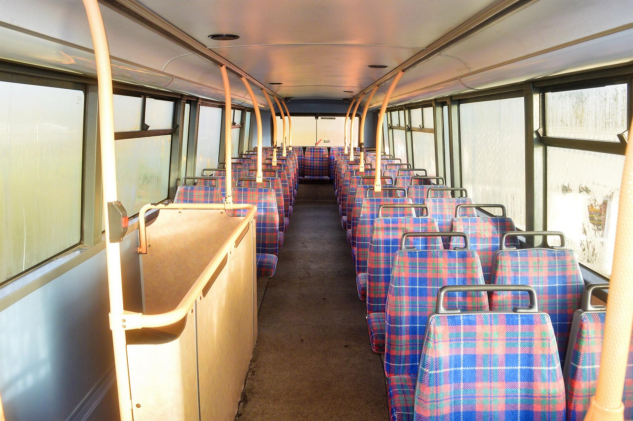 Lot 11 - Alexander Dennis Trident Plaxton President 75 seat double deck service bus Registration Number: V533