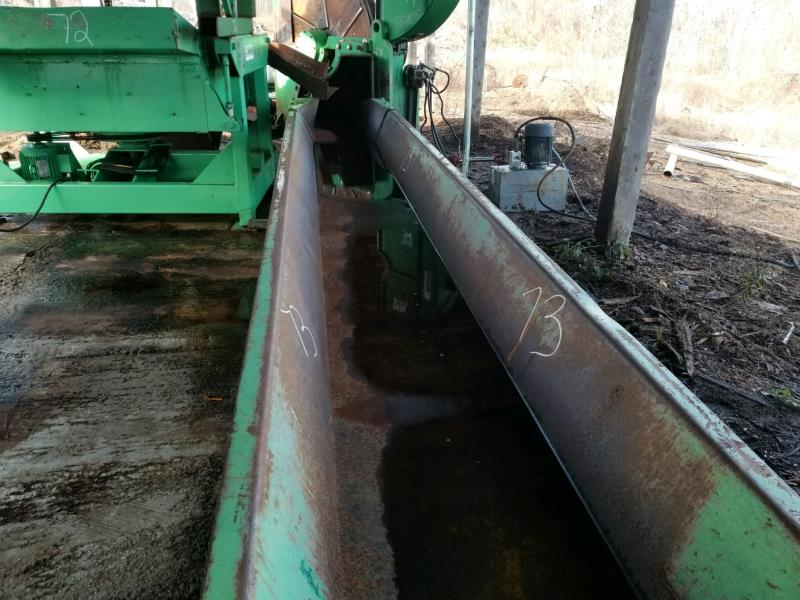 "PRECISION 18""X 15' VIBRATING CONVEYOR - Image 2 of 2"
