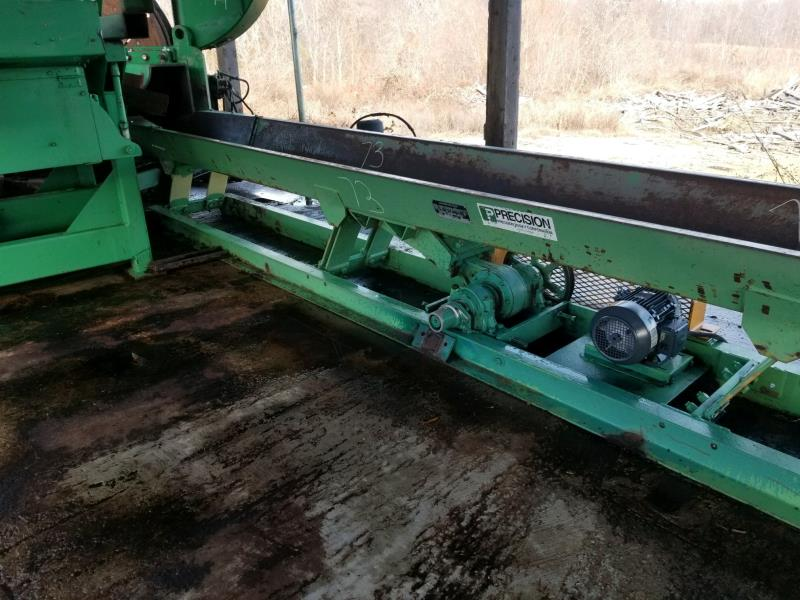 "PRECISION 18""X 15' VIBRATING CONVEYOR"