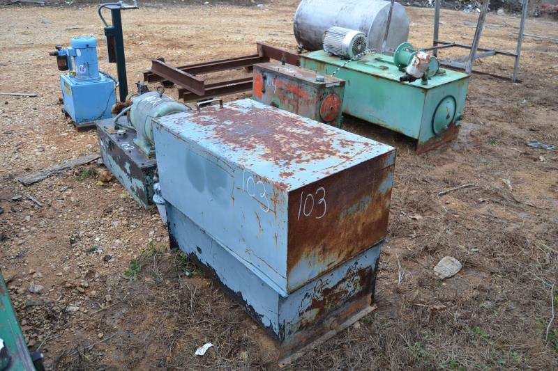Lot 103 - 15 HP HYDRAULIC POWER PACK