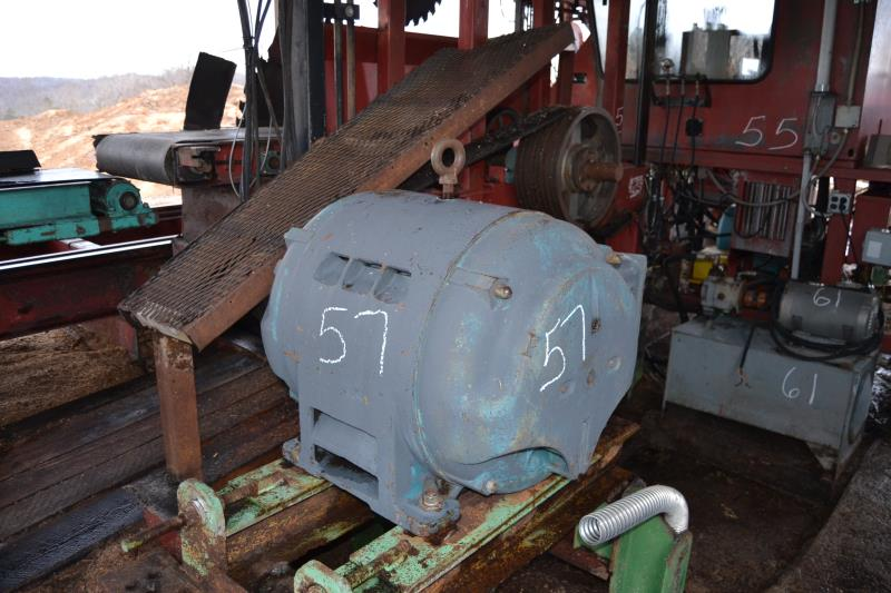 Lot 57 - 100 HP HEAD SAW MOTOR