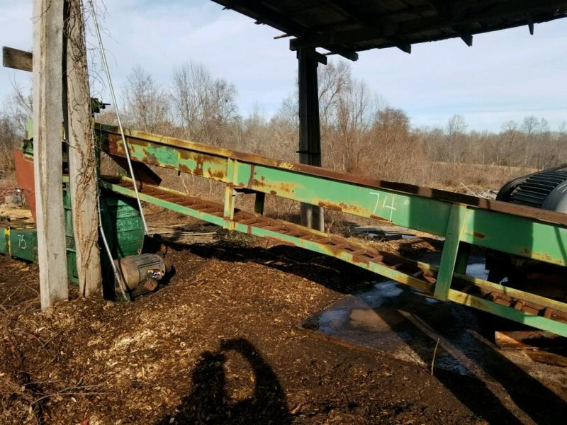 18' ALL STEEL LADDER BACK CONVEYOR