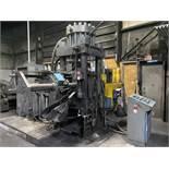 ADVANCED MACHINE 530-2230 Billet Shear, s/n 7904, Allen Bradley PanelView Plus 400 PLC Control,