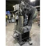 """BLISS C35 OBI Press, s/n H54022, 35 Ton, 26.5"""" x 7"""" Bed, 2.5"""" Stroke, 11"""" Shut Height, 2.5"""" Adj,"""