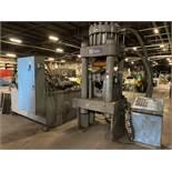 ADVANCED MACHINERY 530-2230 Billet Shear, s/n 7417, Allen Bradley PanelView Plus 400 PLC Control,