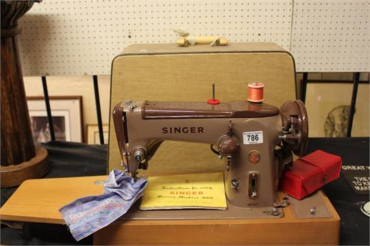 Singer Sewing Machine 40K Electric With Red S Label Manual And Mesmerizing Singer Electric Sewing Machine Manual