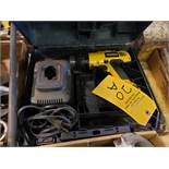 DEWALT CORDLESS DRILL WITH CHARGER IN CASE