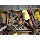 ASSORTED CLAMPS & MISC TOOLS
