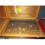 MEYER PIN GAGE SET - .251 - .500 [LOCATED IN CLIFTON, NJ]
