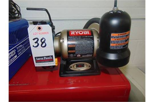 Tremendous Ryobi Bgh6110 6 D E Bench Grinder 1 3 H P 1 Ph Caraccident5 Cool Chair Designs And Ideas Caraccident5Info
