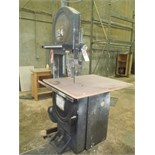 """Oliver Mach# 2520, 20"""" Vertical Band Saw"""