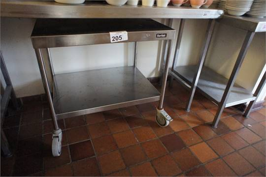 Stainless Steel Commercial Catering Table Approx Ft X Ft A - 5 ft stainless steel table