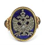 A 19th century Russian signet ring