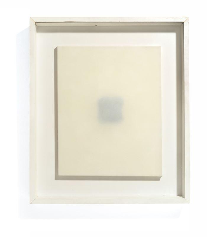 Los 754 - Gotthard Graubner (Erlbach/Vogtland 1930 – 2013 Hombroich)Untitled. 1967Oil on nylon over