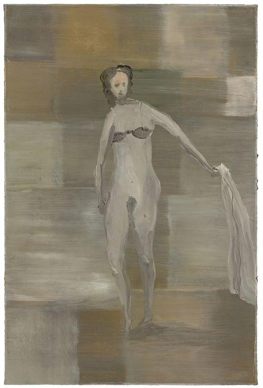 Los 742 - Norbert Schwontkowski (1949 – Bremen – 2013)Ella. 2006Oil on canvas. 90×60cm ( 35⅜×23⅝