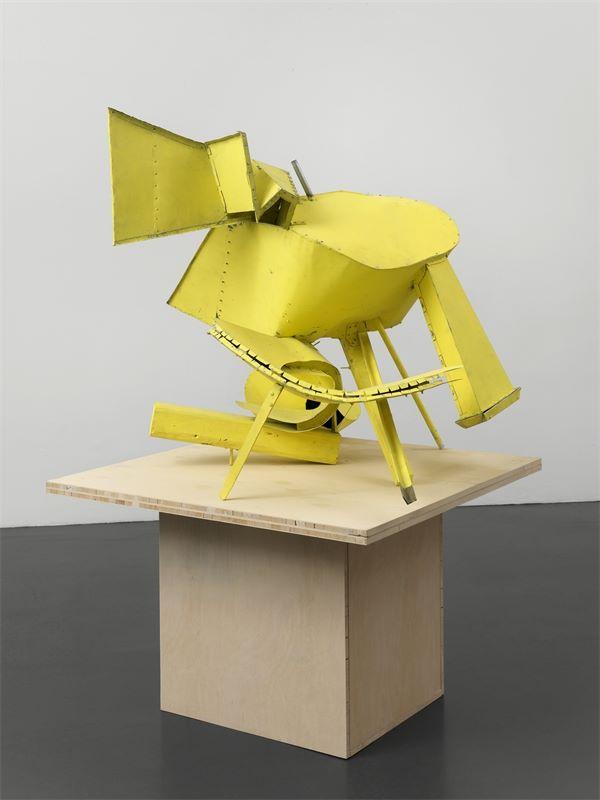 """Los 716 - Thomas Kiesewetter (Kassel 1963 – lebt in Berlin)""""um 1500"""". 2008Acryl auf Metall und Holz, auf"""