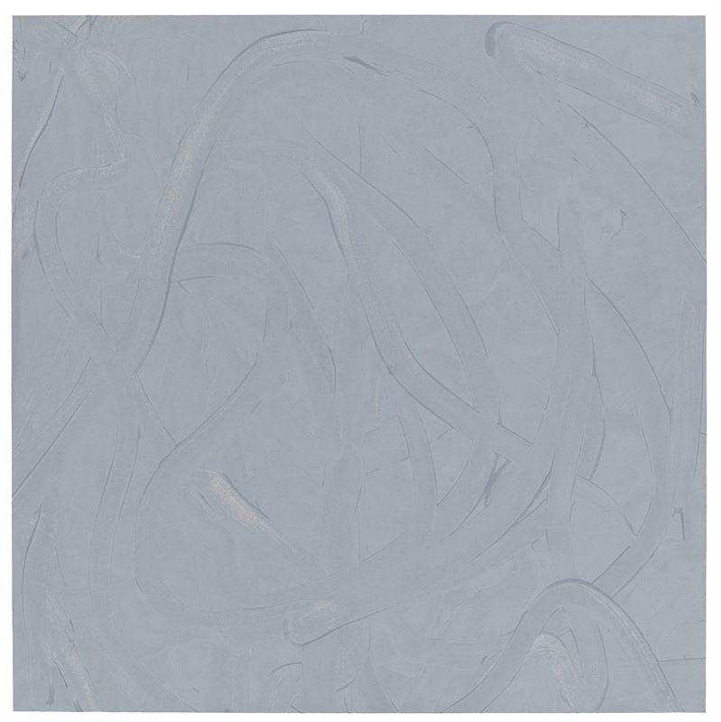 """Los 743 - Gerhard Richter (Dresden 1932 – lebt in Köln)""""Vermalung (Grau)"""". 1971Öl auf Kunststoffpapier, mit"""