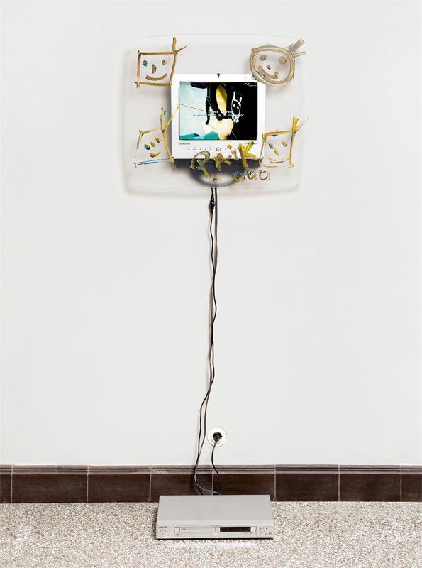 Los 709 - Nam June Paik (Seoul/Korea 1932 – 2006 Miami)The Tiger Lives. 2000Installation: Acryl auf