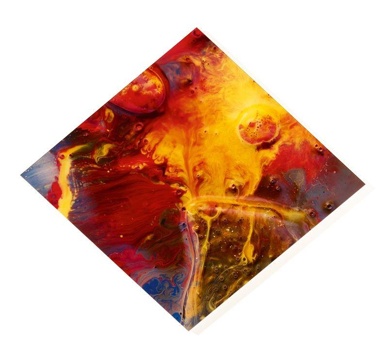 """Los 744 - Gerhard Richter (Dresden 1932 – lebt in Köln)""""Guildenstern"""". 1998Cibachrome, zwischen Plexiglas"""