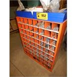 LOT/ PIGEONHOLE CABINET WITH HARDWARE