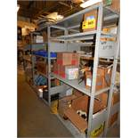 LOT/ CONTENTS OF SHELF CONSISTING OF PPE EQUIPMENT, WIRE BRUSHES, WELDING CONSUMABLES AND DRILLS