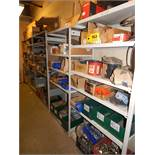 LOT/ CONTENTS OF SHELF CONSISTING OF WIRE, HARDWARE, AND MAINTENANCE SUPPLIES