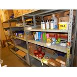 LOT/ CONTENTS OF SHELF CONSISTING OF PPE EQUIPMENT