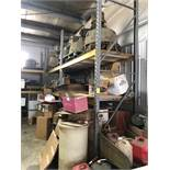 11 -SECTIONS OF HEAVY DUTY PALLET RACKING APPROX. 8' X 4' X 10' HIGH (NO CONTENTS) [WALTON HILLS,