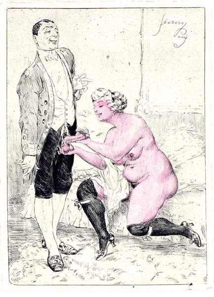 Auktionslos 774 - Erotica - - Lossow, Heinrich (Pseudonym: Gaston Ferran). Ein treuer Diener seiner Frau. Mit