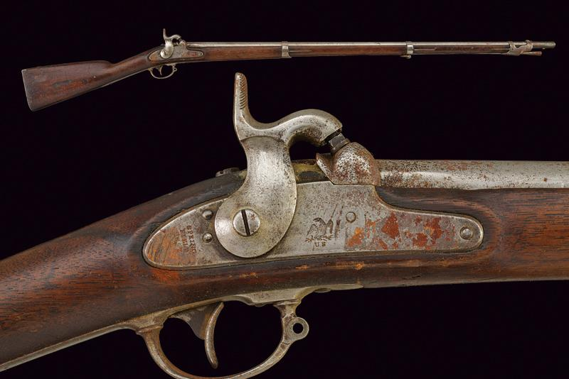 Lot 6 - A Springfield percussion gun