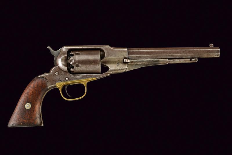 Lot 44 - A Remington New Model Navy Revolver