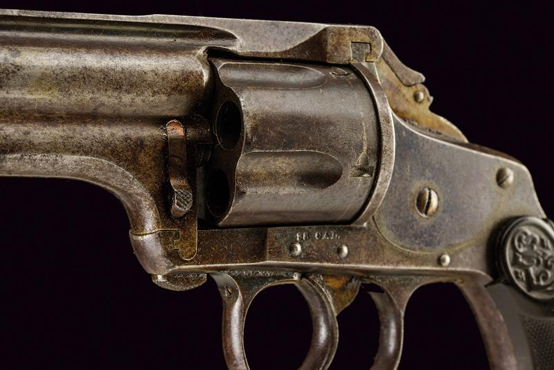 Lot 33 - Merwin Hulbert & Co. D. A. Pocket Revolver Square Butt