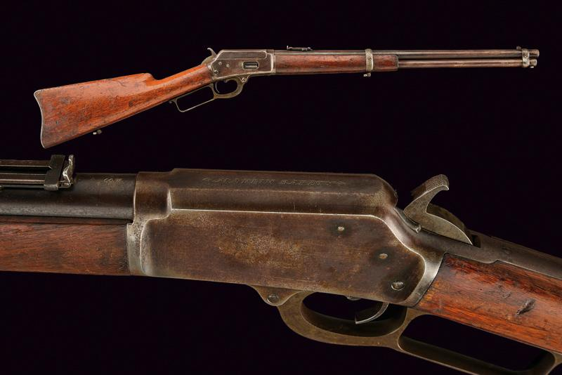 Lot 8 - A Marlin Model 1889 Lever Action Rifle